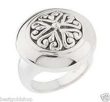 QVC Domitian Scroll Ring Real 925 Sterling Silver QVC Myras Collection