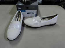 NEW CALLAWAY GOLF SHOES LADIES WOMENS SLIP ON COUTURE MOCCASIN WHITE/WHITE W472