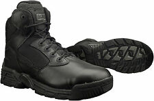 """Magnum Mens 6"""" STEALTH FORCE 6.0 Side Zip SZ Black Police Army Combat Boots 5226"""