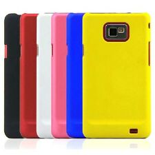 For Samsung Galaxy S2 SII I9100 i9101 Rubberized Matte Snap On hard case Cover