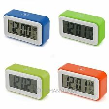 SNOOZE DIGITALE LCD LED TERMAMETRO SVEGLIA CALENDARIO ALARM CLOCK