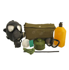 Genuine Russian Army Black PMK Gas Mask - All Sizes Soviet Military