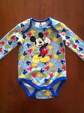 Mickey Mouse Baby Boy Romper