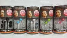 Genuine OEM Creative EP-630 Noise Isolating Earphones In-Ear Headphones Earbuds