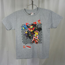 Authentic LEGO MOVIE 2014 Lord Business VS The Good Guys Youth T-Shirt M-XL NEW