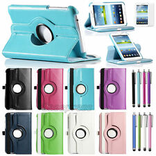 For Samsung Galaxy Tab 3 7.0 inch Tablet P3200 PU Leather Case Cover Rotating