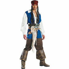 Pirates Of The Caribbean - Jack Sparrow Adult Costume