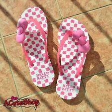 Hello Kitty Women's Flip Flop Slippers Thong Capri Shoes  #914017