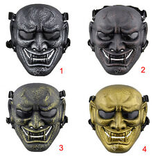 Airsoft Hunting War Game Buddhist Evil Oni Noh Theatrical Hannya Mask Protection