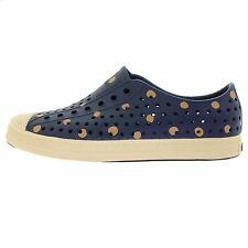 Native Jefferson Navy With Dots 2013 Summer Unisex Casual Shoes Slip on Sneakers