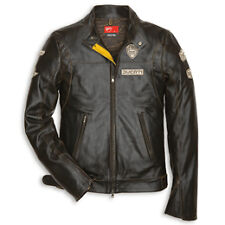 NEW DUCATI HISTORICAL LEATHER JACKET