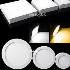 Cree 9W 15W 21W Dimmable LED Panel Light Ceiling Downlight Surface Mount Lamp BB