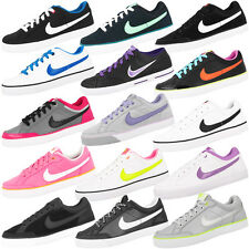 NIKE CAPRI 3 GS WOMEN SCHUHE TEXTILE LEATHER RETRO SNEAKER FLASH FLYCLAVE