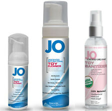 System Jo Sex Toy Cleaner Anti-Bacterial Spray Foamer - Choose Type and Size