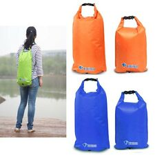 Outdoor Waterproof Dry Bag Sack 33L/ 22L Bucket for Camp Canoe Boating Kayaking