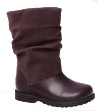 Girls Boots Grosby Becky Black or Purple  Size 7-12 New Zip Up Boot