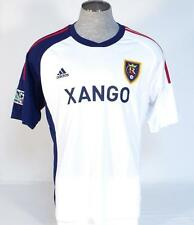 Adidas ClimaCool Real Salt Lake White Short Sleeve Soccer Jersey Mens NWT
