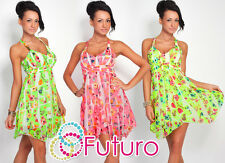 SUMMER ♥ Exclusive High Quality Dress ♥ Flower Motive Sleeveless Tunic FC120
