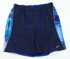Nike Blue Brief Lined Swim Trunks Boardshorts Board Shorts Mens NWT