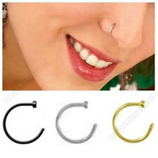 Surgical Steel Hipsters Nose Studs Nose Ring Earrings Prevent allergy EH0264