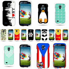 Hard Snap On Rubber Custom Design Phone Cover Case For Samsung Galaxy S4