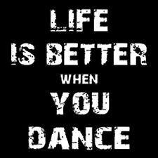 LIFE IS BETTER WHEN YOU DANCE (Bachata Kizomba Salsero R&B Salsa Rumba) T-SHIRT