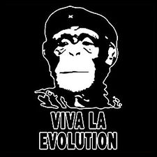 VIVA LA EVOLUTION MONKEY (che guevara anonymous club antifa ernesto) T-SHIRT