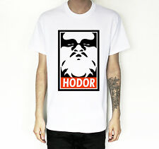 NEW THE GAME OF THRONES HODOR OBEY MENS T-SHIRT TEE TSHIRT  HIGH QUALITY