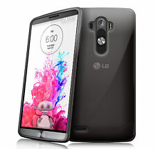 NEW SMOKE BLACK HYDRO GEL CASE COVER SKIN FOR 2014 LG G3