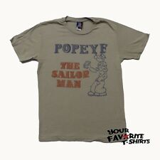 Popeye The Sailor Man Licensed Junk Food Adult Shirt S-XL