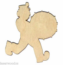 Circus Musician Unfinished Flat Wood Shape Variety Sizes CM4407 Laser Crafts