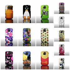 Rigid Snap On Plastic Protective Design Phone Case for ZTE Radiant / Sonata 4G