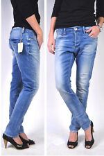 "REPLAY Jeans WX693 LEENA #354 ""Fresh Blue"" relaxed Boyfriend! NEUF P/É 2014 !"