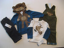 Gymboree SILLY MONKEY Boys size 12 18 24 m U PICK Jacket Shirt Overalls NWT