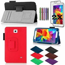 For Samsung Galaxy Tab 4 7.0 7-inch Tablet PU Leather Cover Case/Accessories