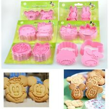 Cute Cookie Fondant Cake Sugar Craft Chocolate Decorating Plunger Cutter Mold
