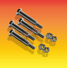 "4 Wheel 1/2"" Shoulder Bolts 3/8"" th Sizes 1 5/16, thru 4 Locking Nuts Included"