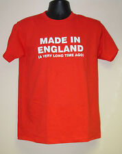 "Men's Slogan T-Shirt ""MADE IN ?...A Very Long Time Ago""  Birthday/Christmas Gift"