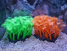 CC380 AQUARIUM FISH TANK MARINE REEF FLOWER CORAL CORALS ORNAMENT SOFT DECOR