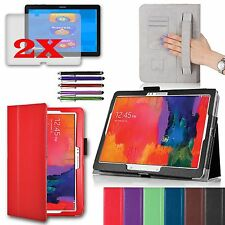 For Samsung Galaxy NOTE Pro 12.2 Smart Case Stand PU Leather Cover w/ Free GIFT
