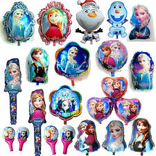Disney Frozen Elsa Anna Foil Balloons Decoration​,Girls,Birthday Party Supply