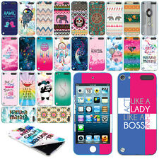 For Apple iPod Touch 5 Art Image VINYL DECAL Sticker Body Cover Phone Protector