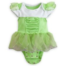 TiNkEr BeLL~Cuddly~BODYSUIT+WINGS~INFANT~BaBy~Costume~NWT~Disney Store~2013