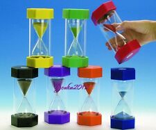 Security Educational Toys Hourglass 2/3/5/10/15 Minutes Sand Timer 5 Colors Y