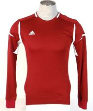 Adidas ClimaLite Formotion Burgundy & White Long Sleeve Soccer Jersey Mens NWT
