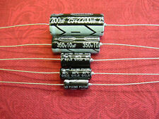 Pack of 5 Electrolytic Capacitors 10uF 22uF 47uF 350V Axial RoHS Unicon