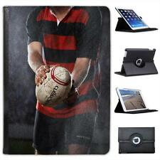 Rain Wind or Sun We Play Rugby No Matter What Folio Leather Case For iPad Air