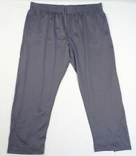 Under Armour Gray All Season Gear Moisture Wicking Track Pants Mens NWT