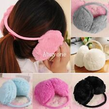 Soft Unisex Womens Mens Winter Fleece Ear Wrap Muffs Warmers Earmuffs