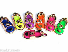 FLIP FLOP SHOE CHARM LOOM RUBBER BANDS BRACELET MAKING RAINBOW HOOK KIT SET